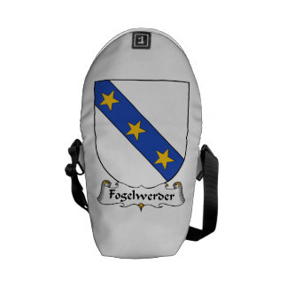 Fogelwerder Family Crest Courier Bags