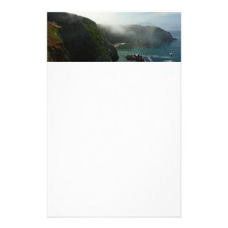 Foggy Anacapa Island at Channel Islands Stationery