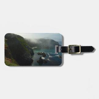 Foggy Anacapa Island at Channel Islands Tag For Luggage