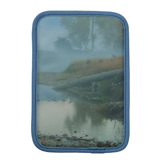 Foggy Bitterroot River Morning Design Sleeve For iPad Mini