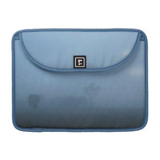 Foggy Blue Fog Macbook Pro Flap Sleeve Sleeves For MacBook Pro