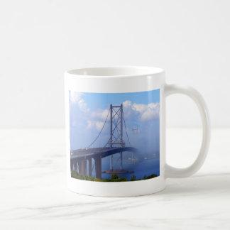 Foggy Bridge Coffee Mug