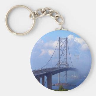 Foggy Bridge Keychain