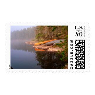 Foggy Canoe Campsite, Lake Kawnipi, Postage
