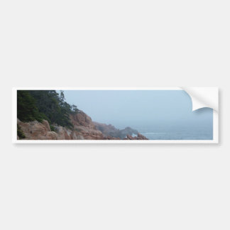 Foggy Coast Of Maine Bumper Sticker