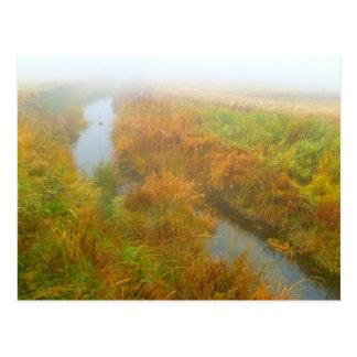 Foggy creek postcard