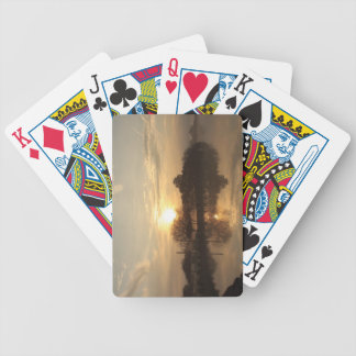 Foggy Day 10 Bicycle Playing Cards
