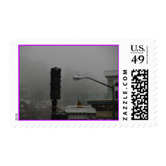 Foggy Day in San Francisco Stamps