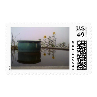 Foggy Day Stamp