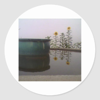 Foggy Day sticker