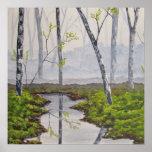 Foggy Forest Fine Art Print