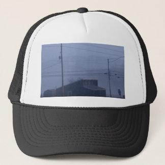 Foggy Ghost Town Trucker Hat