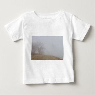 Foggy Lake Shoreline View T Shirts