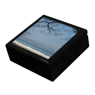 Foggy Mackinac Bridge Gift Box