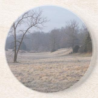 Foggy Meadow Drink Coaster