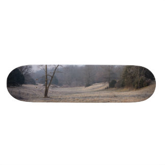 Foggy Meadow Skateboard Deck