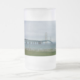 Foggy Mighty Mac Frosted Glass Beer Mug