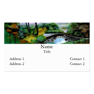Foggy Morn Double-Sided Standard Business Cards (Pack Of 100)
