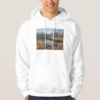 Foggy Morning At A Marsh Sweatshirt