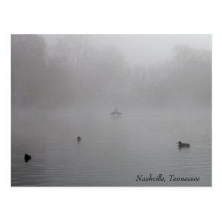 Foggy Morning in Nashville Postcard
