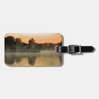 Foggy Morning Luggage Tag