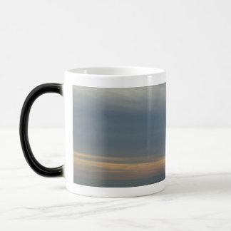Foggy Morning over the Water Magic Mug