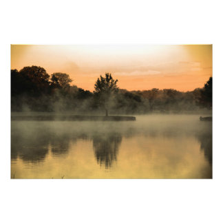 Foggy Morning Photo Print