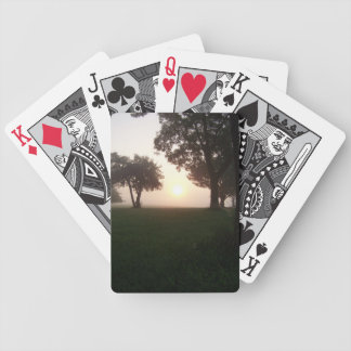 Foggy Morning Deck Of Cards
