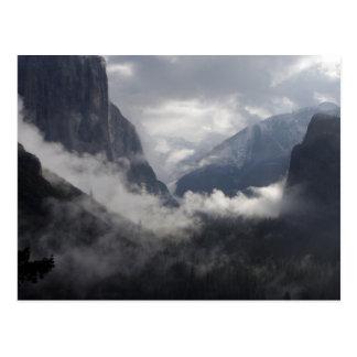 Foggy Morning Postcard