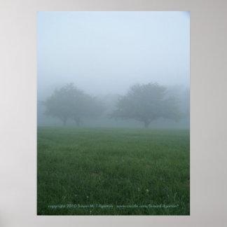Foggy Morning Poster