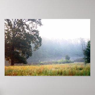 Foggy Morning Print