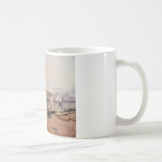 Foggy Morning, Rouen by Camille Pissarro Coffee Mug