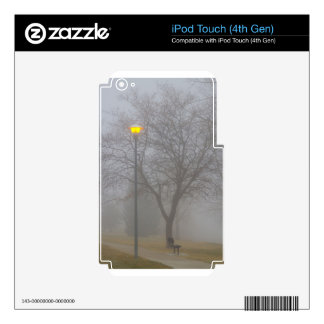 Foggy Morning Decal For iPod Touch 4G