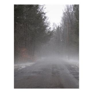 Foggy Morning Walk Letterhead