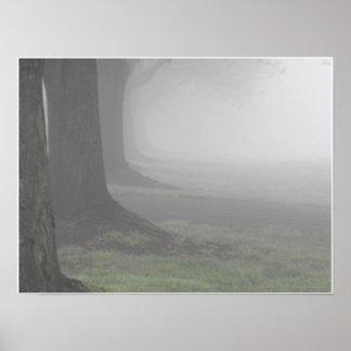 Foggy Mornings 10 Poster