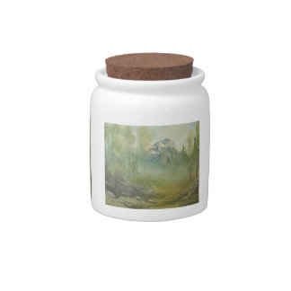 Foggy Mountain Candy Jar