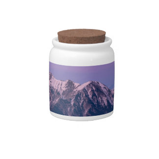 Foggy Mountain Peaks Candy Dishes