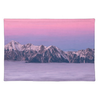 Foggy Mountain Peaks Placemat