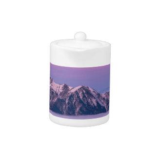 Foggy Mountain Peaks Teapot