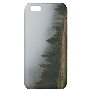 Foggy Mountain Scene iPhone 5c case