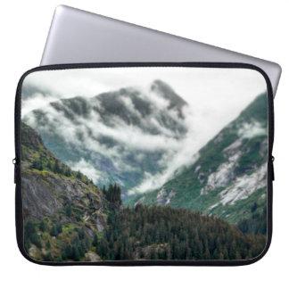 Foggy Mountain Tops Laptop Sleeve