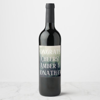 Foggy Mountain Wine Label