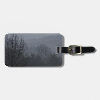 Foggy Mountian Ranges Bag Tag