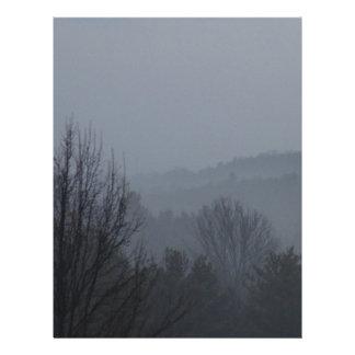 Foggy Mountian Ranges Letterhead