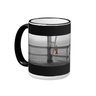 Foggy Oceanic View Coffee Mug