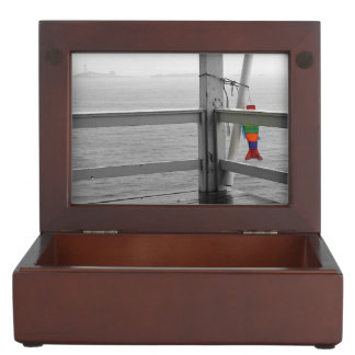Foggy Oceanic View Keepsake Box