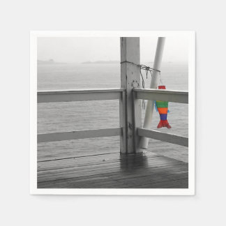 Foggy Oceanic View Paper Napkins