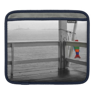 Foggy Oceanic View Sleeve For iPads
