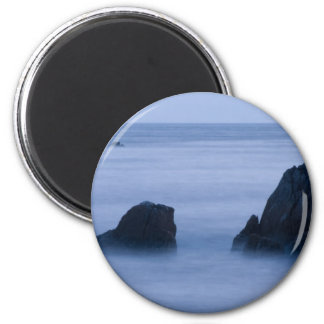 foggy peaks 16x10 2 inch round magnet