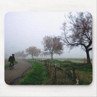 Foggy Rider Mousepad